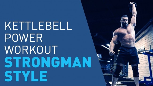 Blue Star Nutraceuticals - Strongman Kettlebell Workout To Build Ripped Muscle & Power
